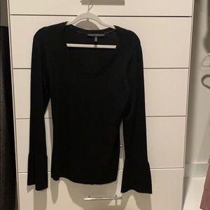 Black Bell Sleeve sweater